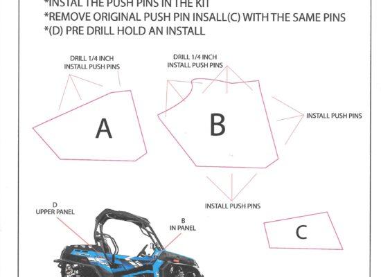 Simple guide to installing door panels